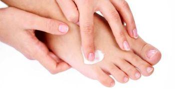 Creme hydratante pour les pieds