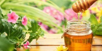 Gommage sucre au miel