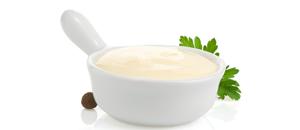 Masque a la mayonnaise